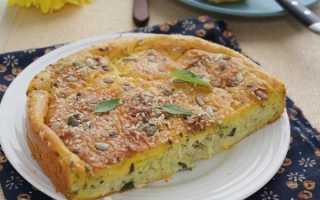 Рецепт капустного пирога на сметане