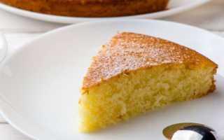 Пирог из манки рецепт самый легкий