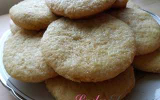 Рецепт печенья из майонеза и яиц