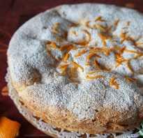 Пирог с апельсинами простой рецепт с фото
