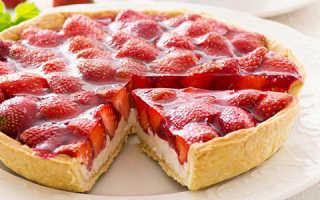 Пирог с клубничным вареньем простой рецепт