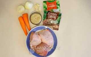 Рецепт рассыпчатого плова с курицей в мультиварке