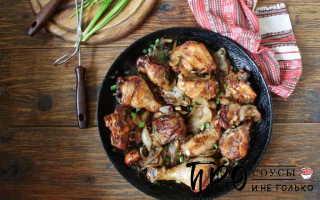 Рецепт курицы с имбирем и соевым соусом
