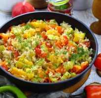 Рис с овощами рецепт в духовке