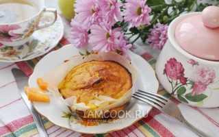 Рецепт тыквенной запеканки с яблоком