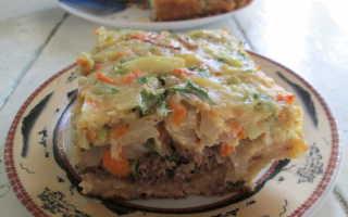 Пирог из черствого белого хлеба