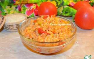 Рис в томатном соке рецепт