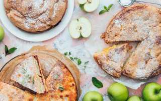 Простой яблочный пирог andychef