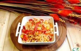 Рис по мексикански рецепт с кукурузой