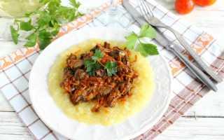 Печень жареная с луком и морковью рецепт