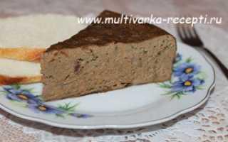 Печеночный пирог в мультиварке рецепты