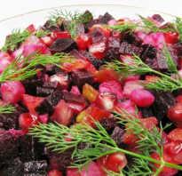 Рецепты простых русских салатов