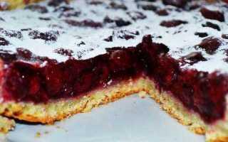 Пирог с миндалем от юлии высоцкой