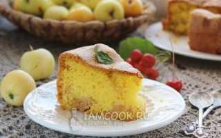 Пирог с ранетками рецепт с фото пошагово