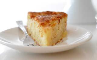 Пирог из творога и сгущенки простой рецепт