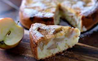 Почему яблочный пирог не поднимается в духовке