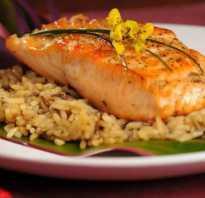 Рис с рыбным соусом рецепт