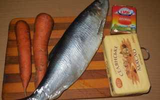 Паштет селедочный с морковью