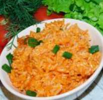 Рис с плавленным сыром рецепт