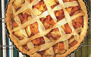 Пирог яблочно тыквенный в духовке