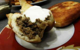 Пирожки из куриной печени на сковороде