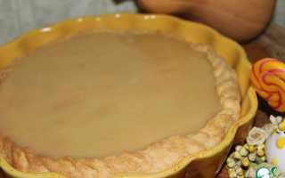 Пирог из тыквы со сливками