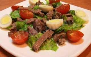 Рецепт салата под водочку