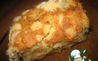 Пражский пирог с яблоками