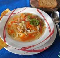 Рецепт супа с сельдереем и курицей