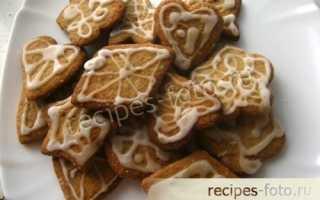 Рецепт имбирного печенья со свежим имбирем