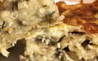 Пирог из лаваша в духовке видео