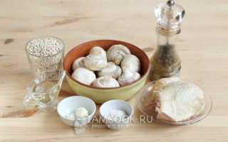 Перловая каша с курицей и грибами