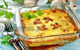 Рецепт жюльена грибы и курица картофель