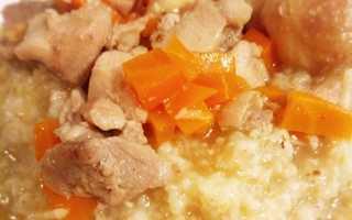Рецепты с ячневой крупой с курицей