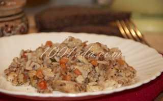 Плов с рисом и гречкой
