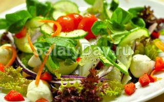 Приготовление салата из сырых овощей 5 класс