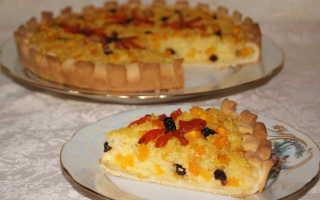 Пирог с тыквой и пшеном рецепты