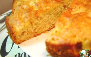 Пирог с яблоками и медом рецепт