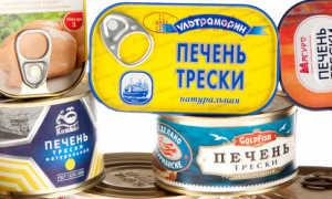 Печень трески как выглядит в банке