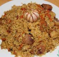 Рис в казане рецепт с фото
