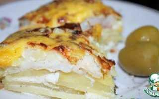 Рецепт рыбной запеканки с картофелем в духовке