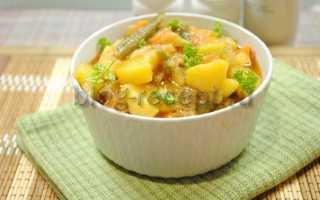 Рагу с говядиной и картошкой рецепт
