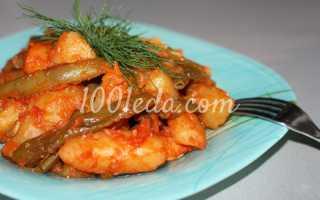 Рагу из овощей со стручковой фасолью