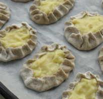Ржаное тесто для калиток с картошкой
