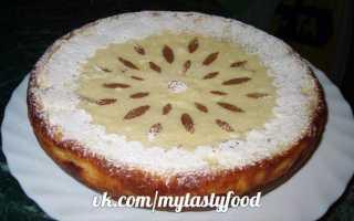 Рецепт пирога с грушами в мультиварке