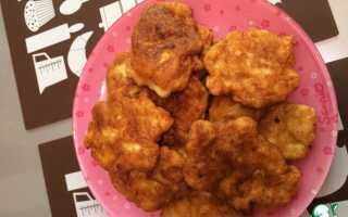 Рецепт оладьев из куриной грудки с фото