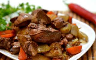 Рецепт блюд из куриной печени с фото