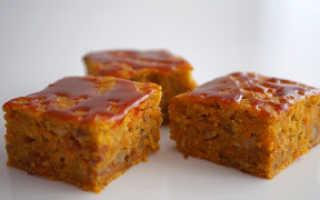 Пирог с тыквой и морковью рецепт