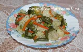 Плов в мультиварке овощной рецепты