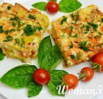 Рецепт запеканки с рыбой и картофелем